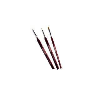 Hobby Starter Brush Set (3)