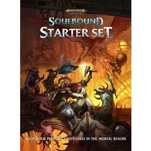 Warhammer Age of Sigmar Roleplay Soulbound Starter Set (No Amazon Sales)
