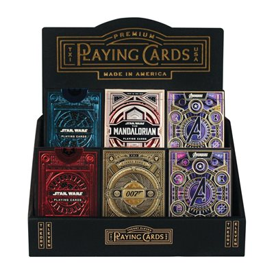 Theory 11 Card Displayers (24 ct Prepacked) ^ JULY 2021