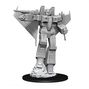 Transformers Deep Cuts Unpainted Miniatures: Starscream ^ Dec 2019