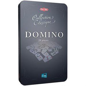 Dominoes Tin Box