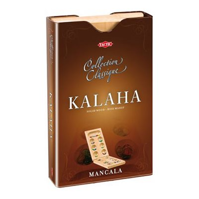 Kalaha / Mancala Tin Box