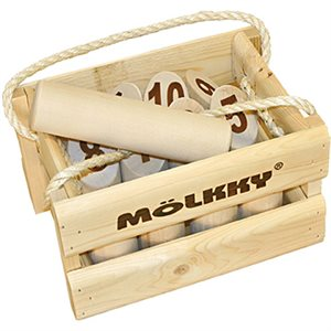 Molkky Wooden Crate (Multi)