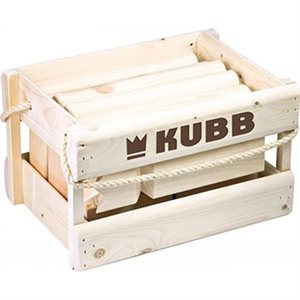 Kubb Original in Wood Case