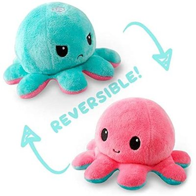 Reversible Octopus Mini Light Pink / Light Blue (No Amazon Sales)