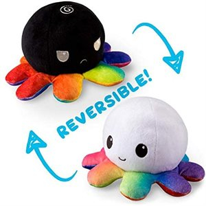 Reversible Octopus Mini White / Black (No Amazon Sales)