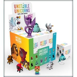 Unstable Unicorns: Vinyl Mini Series Display (No Amazon Sales) ^ OCT 2020