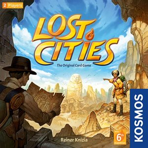 Lost Cities Card Game with 6 Expedition
