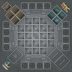 Playmat: Tiny Epic Mechs (No Amazon Sales)