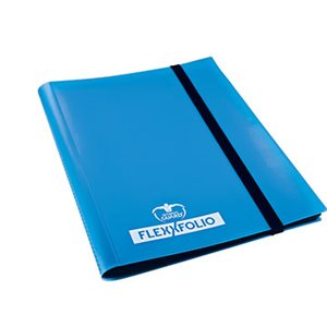 Binder: 9-Pocket Flexxfolio Blue