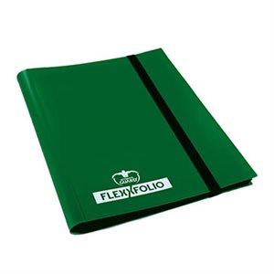 Binder: 9-Pocket Flexxfolio Green
