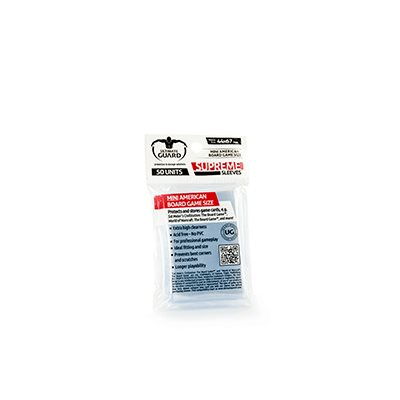 Board Game Sleeves: Supreme - Mini American (50)
