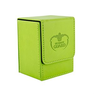 Deck Box: Flip Deck Case Leather 80 Green