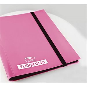 Binder: 4-Pocket Flexxfolio Pink