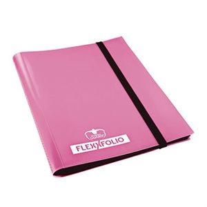 Binder: 9-Pocket Flexxfolio Pink