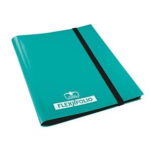 Binder: 9-Pocket Flexxfolio Turquoise