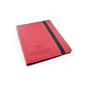 Binder: 9-Pocket Flexxfolio Xenoskin Red