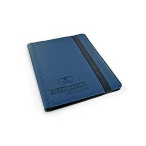 Binder: 9-Pocket Flexxfolio Xenoskin Blue