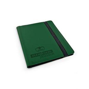 Binder: 9-Pocket Flexxfolio Xenoskin Green