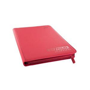 Binder: 9-Pocket Zipfolio Xenoskin Red