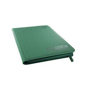 Binder: 9-Pocket Zipfolio Xenoskin Green