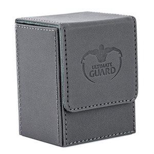 Deck Box: Flip Deck Case Xenoskin 80 Grey