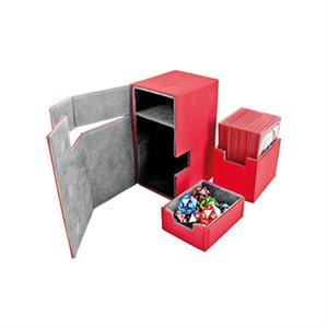 Deck Box: Flip N Tray Xenoskin 80 Red