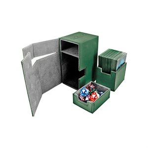 Deck Box: Flip N Tray Xenoskin 80 Green