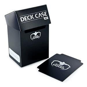 Deck Box: Deck Case 80Ct Black
