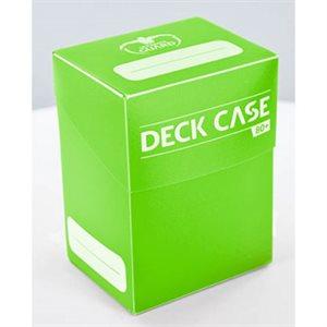 Deck Box: Deck Case 80Ct Light Green