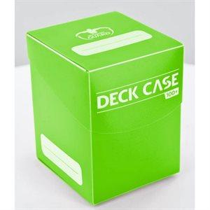Deck Box: Deck Case 100Ct Light Green