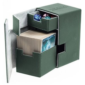 Deck Box: Flip N Tray Xenoskin 100 Green
