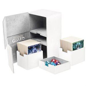 Deck Box: Twin Flip N Tray Xenoskin 200 White