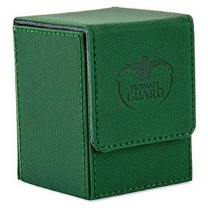 Deck Box: Flip Deck Case Xenoskin 100 Green