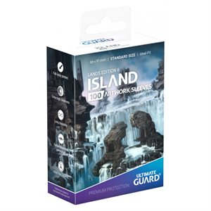 Sleeves: Printed Standard Size Lands Edition II Island (100) ^ April 26 2019