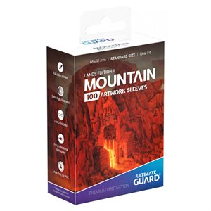 Sleeves: Printed Standard Size Lands Edition II Mountain (100) ^ April 26 2019