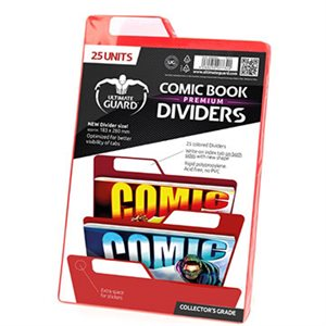 Comic Dividers Red (25)