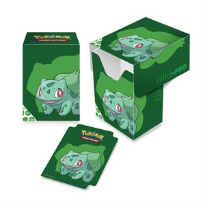 Deck Box: Pokemon: Bulbasaur Full View (80ct)