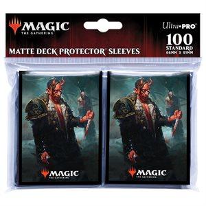 Sleeves: Magic: the Gathering: Kaldheim Tibalt, Cosmic Imposter (100) ^ JAN 2021