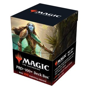 Deck Box: Magic: The Gathering: PRO Combo Kaldheim Lathril, Blade of the Elves (100) ^ JAN 2021