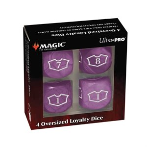 Dice: Magic: the Gathering: Commander Loyalty Dice: Swamp (4pc) ^ Q2 2021