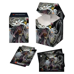 Deck Box: Magic: The Gathering: PRO Combo Commander 2021 Silverquill (100ct) ^ Q2 2021