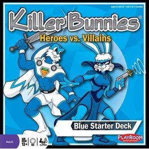Killer Bunnies: Heroes Vs. Villains - Blue Starter