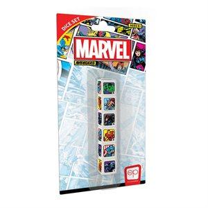 Dice: 6Pc Marvel Avengers (No Amazon Sales)