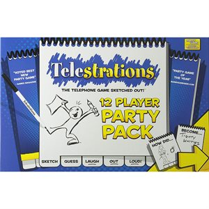 Telestrations® 12 Player - Party Pack (No Amazon Sales)