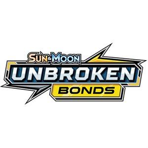 Pokemon: Sun & Moon Unbroken Bonds Booster ^ May 3, 2019