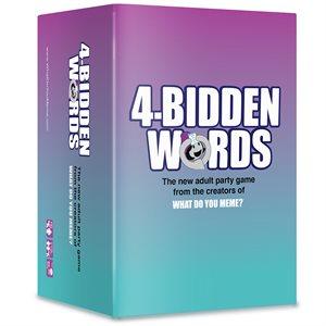 4-Bidden Words (No Amazon Sales)