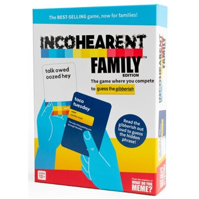 Incohearent Family Edition (No Amazon Sales)