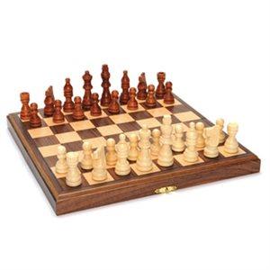 "Chess 11"" Wood Magnetic Folding"