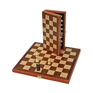 "Chess 11"" Walnut Folding Board"